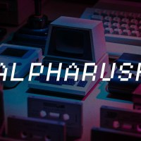 Alpharush - Retro Game Font