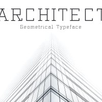 Architect - Geometrical Typeface