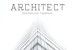 Architect Geometric Typeface