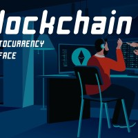 Blockchain - Cryptocurrency Typeface