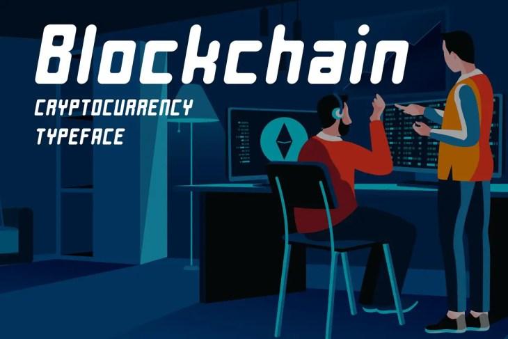 Blockchain Typeface