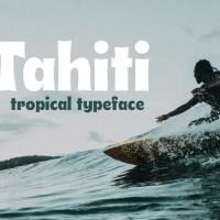 Tahiti - Tropical Font