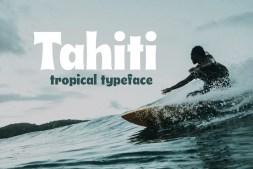 Tahiti Typeface Cover