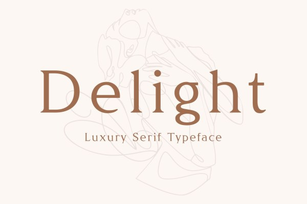 Delight Typeface