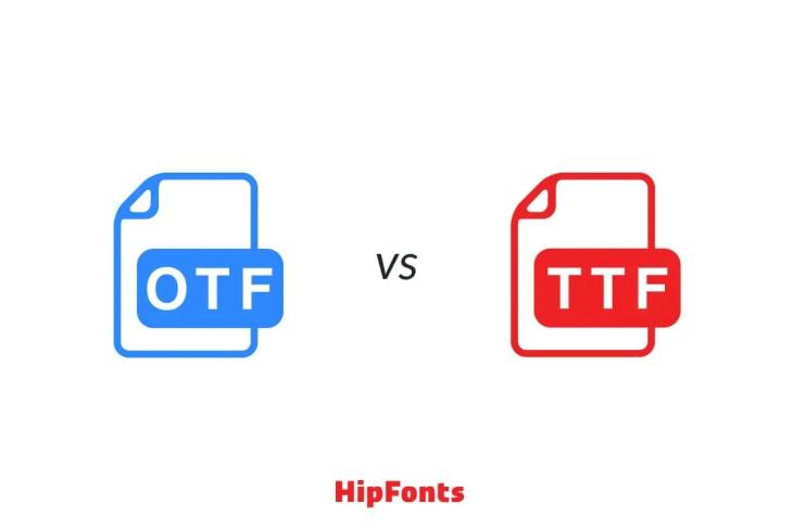Otf vs ttf