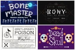 Bones fonts cover min