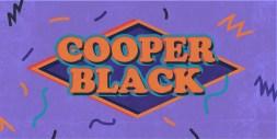 Cooper Black Typeface