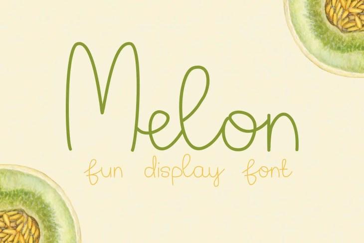Melon Cover min