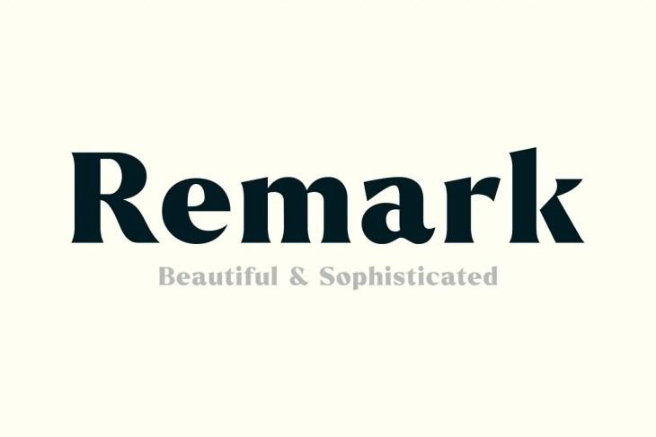 Remark Cover min