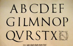 Trajan Typeface min
