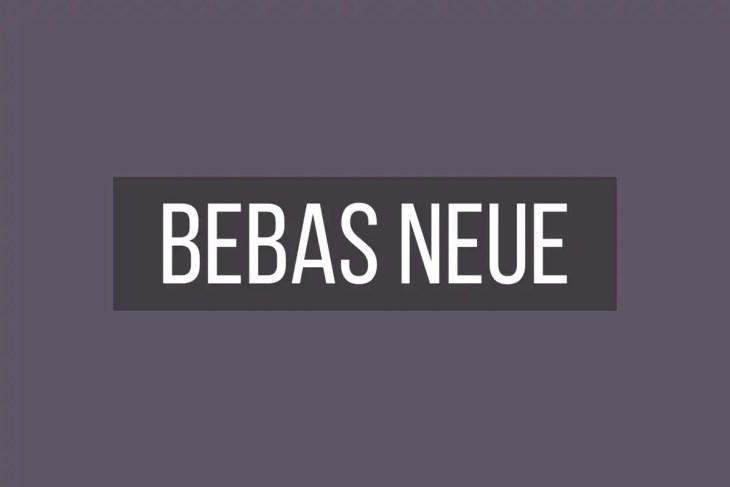 Bebas neue 1