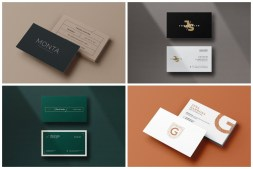 Minimal Business Card cover min