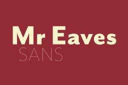 Mr Eaves Sans