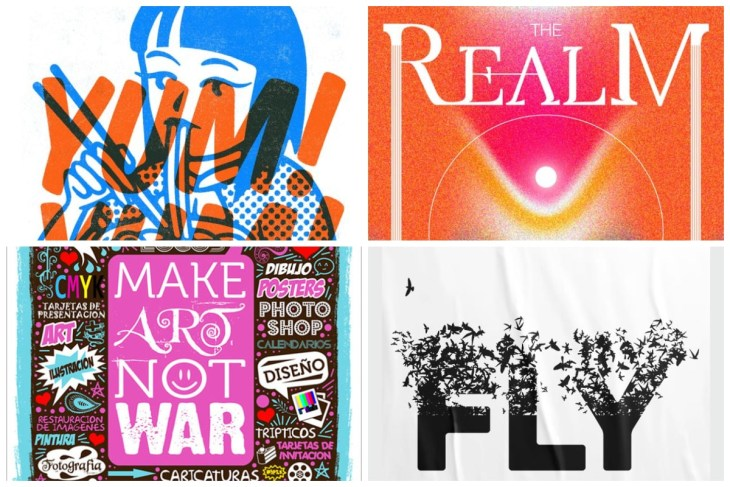 Typography Posters Inspiration min