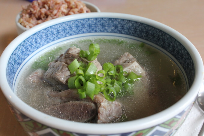 Galbi Tang (Korean Short Rib Soup), one of my favorite Korean soups to make! Galbi tang is made primarily from beef short ribs, daikon or Korean radish, garlic, scallions and other ingredients. It takes a little bit of time but it's well worth it!