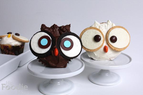 Owl_cupcakes | HipFoodieMom.com