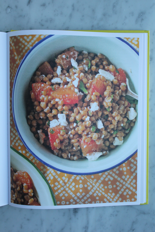 Wheat Berry Salad with Blood Oranges