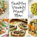 Healthy Weekly Meal Plan 9.17.06