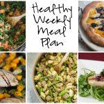Healthy Weekly Meal Plan 11.5.16