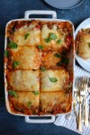 Roasted Zucchini and Eggplant Lasagna! This is the best vegetarian lasagna ever! So much flavor and so delicious! You've got to try this!