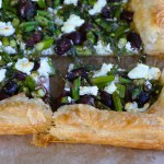 Asparagus Goat Cheese Tart! From Cook's Illustrated new cookbook, Vegetables Illustrated! Flakey and buttery and so good!