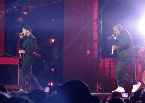 Justin Timberlake and Jay Z perform their first official concert on their 'Legends of the Summer' tour in Toronto