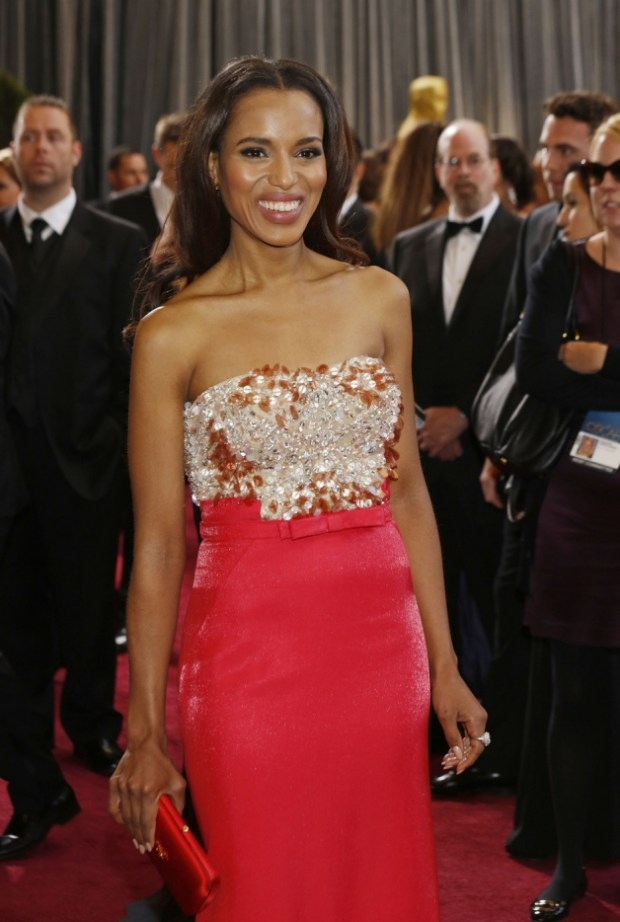Kerry Washington at the 85th Annual Academy Awards at the Dolby Theatre in Los Angeles