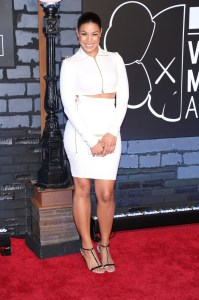 Jordin Sparks attends the 2013 MTV Video Music Awards at the Barclays Center in the Brooklyn borough of New York City