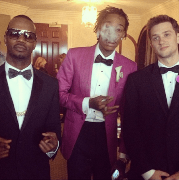 Wiz and the boys