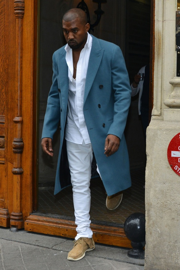 Kanye West and Kim Kardashian out and about in Paris