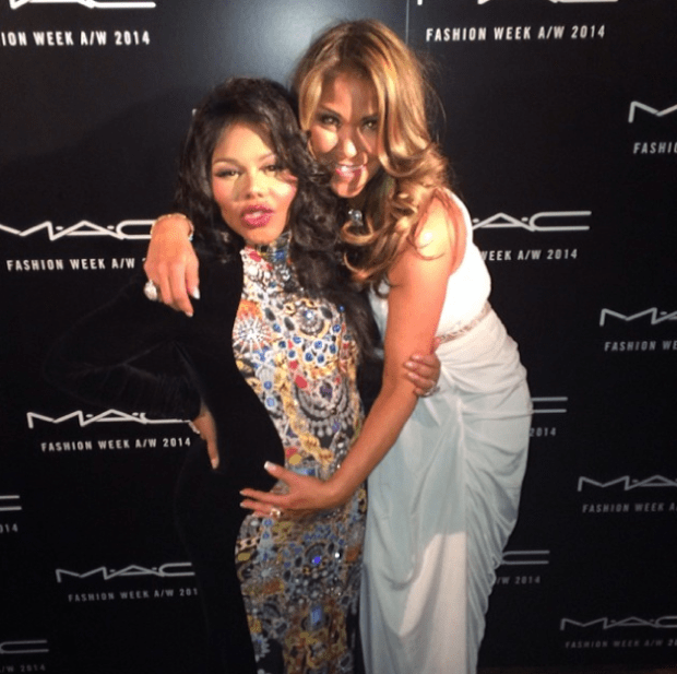 Lil Kim and Jennifer