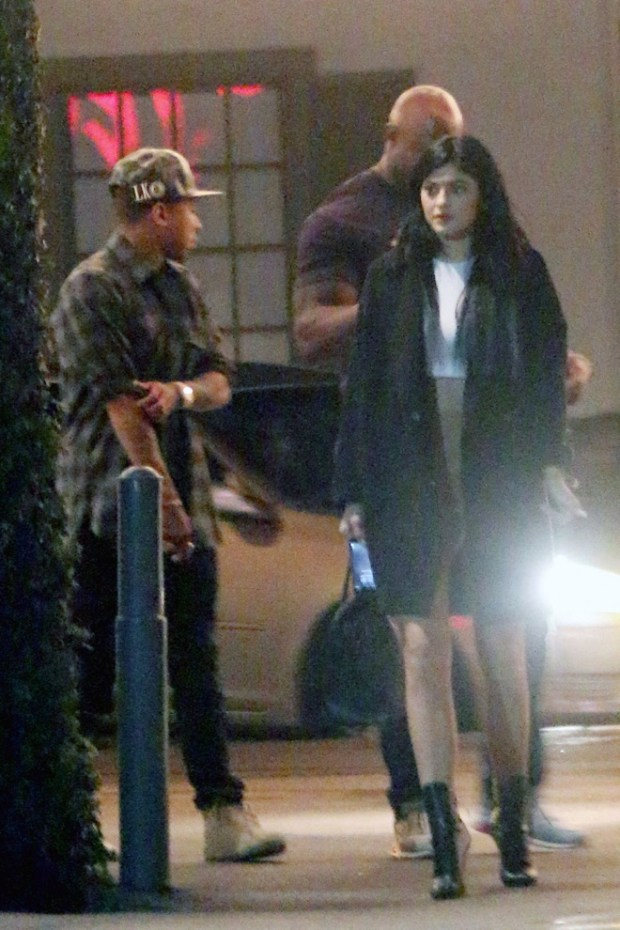 EXCLUSIVE: Kylie Jenner seen on a dinner date with rumoured new beau, rapper Tyga