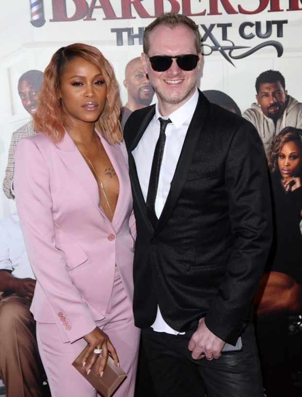 Celebrities attend BARBERSHOP: THE NEXT CUT premiere at TCL Chinese Theatre in Hollywood. Featuring: Eve, Maximillion Cooper Where: Los Angeles, California, United States When: 06 Apr 2016 Credit: Brian To/WENN.com