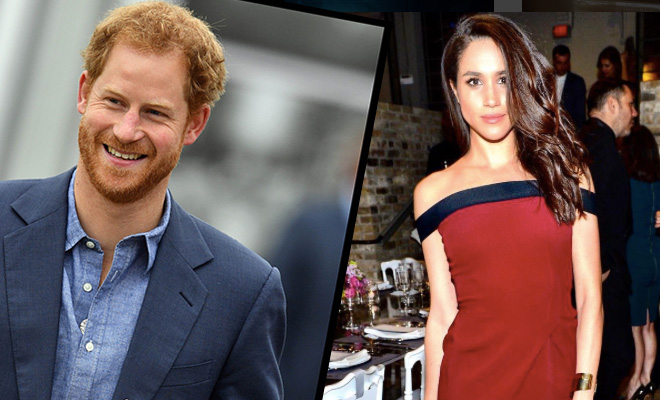 Who is the black girl that prince harry is dating