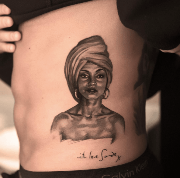 Drake Loves Sade So Much, He Got a Tattoo of Her Face