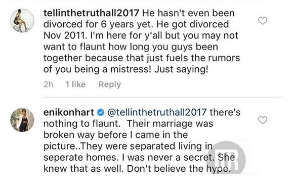 YIKES! Kevin Hart's Ex Torrei Hits His New Wife Eniko With The Clapback Of The Year!