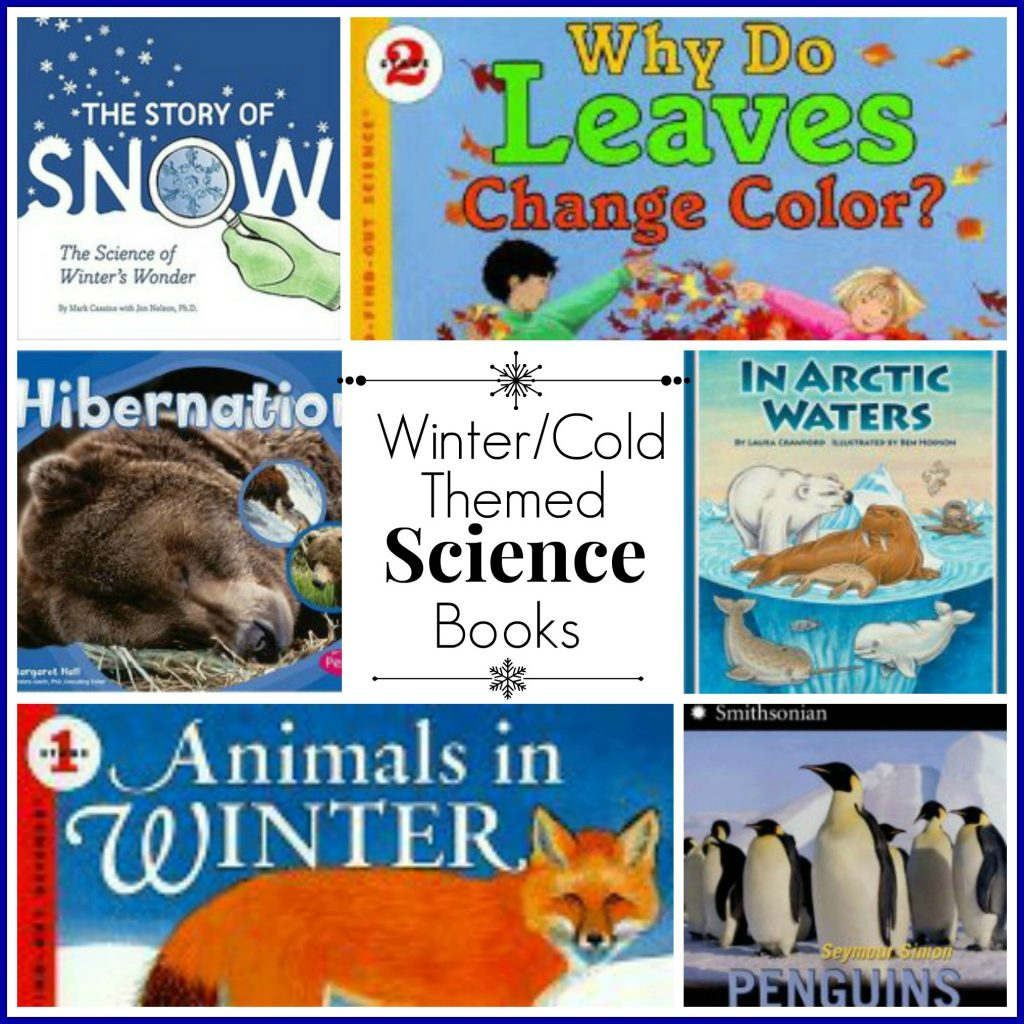 Winter Cold Themed Science Books