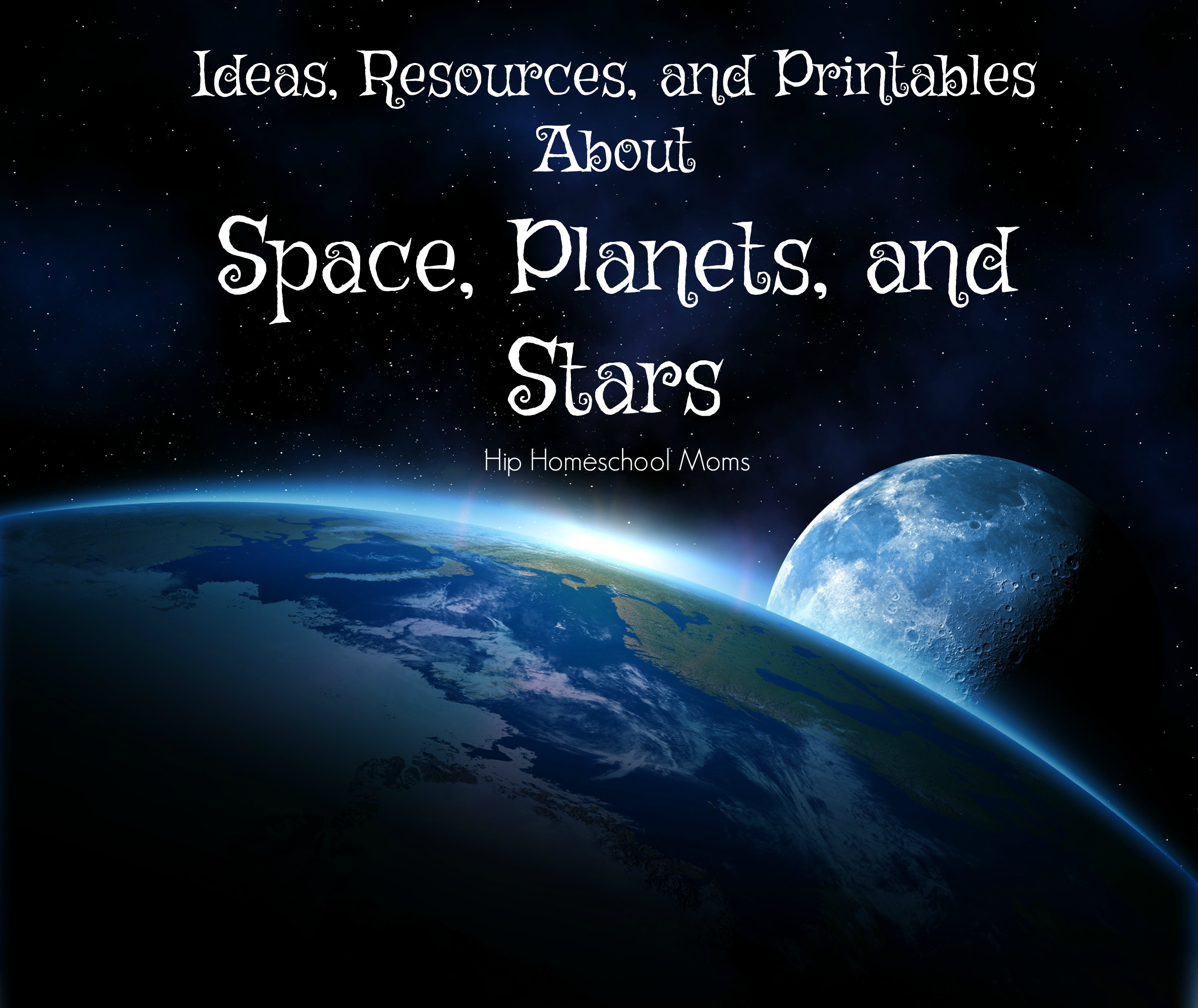 Ideas Resources And Activities About Space Planets And Stars