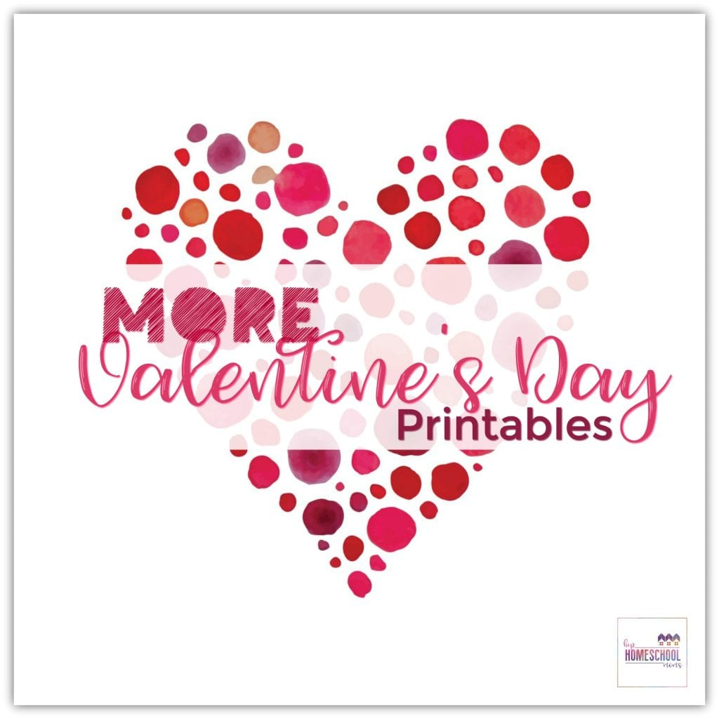 More Valentine S Day Printables