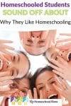 Pin Homeschooled Students Sound Off About Why They Like Homeschooling 1