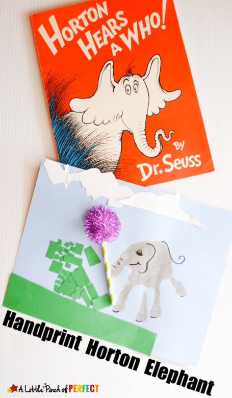 Horton Handprint Craft with Dr. Seuss A Little Pinch of Perfect 8 597x1024 1