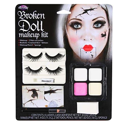 Broken Doll Makeup Kit For Halloween