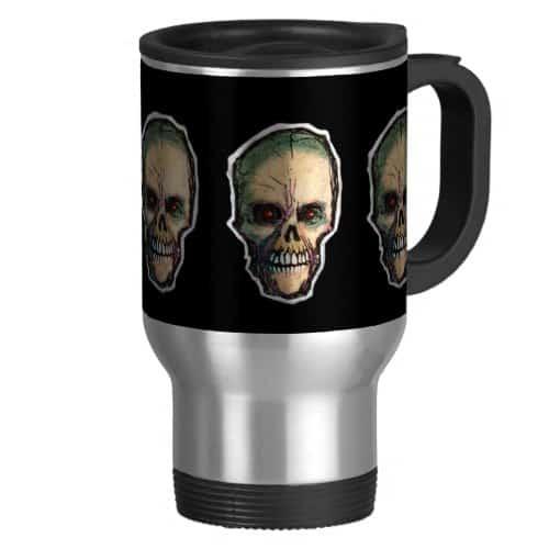 Candy Skull Travel Mug