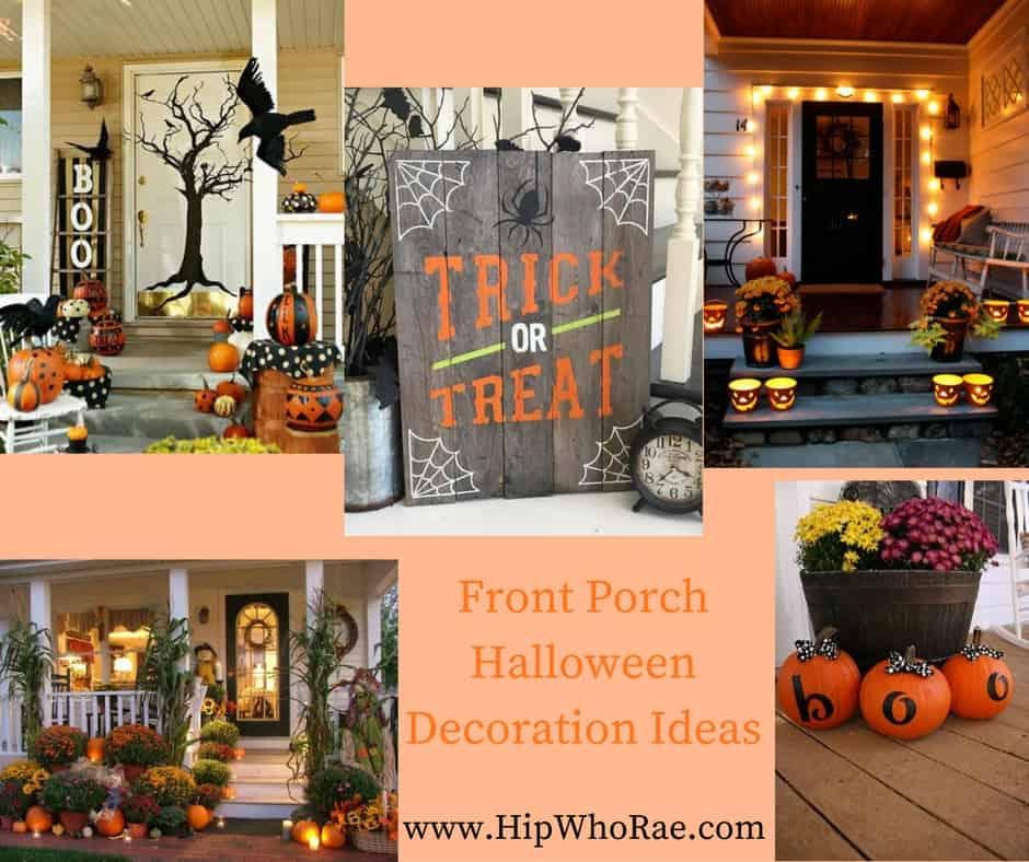 Front Porch Halloween Decoration Ideas