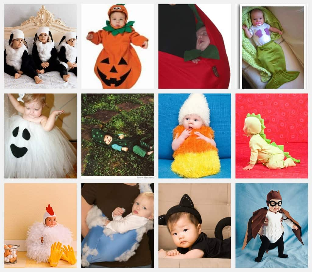 Adorable Infant, Baby and Toddler Halloween Costumes