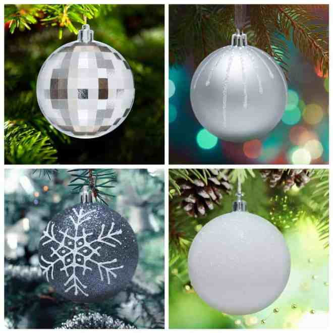 Black And Silver Christmas Decorations Hip Hoo Rae