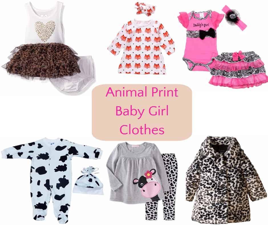 5afd75d71695 Animal Print Baby Girl Clothes - Hip Hoo-Rae