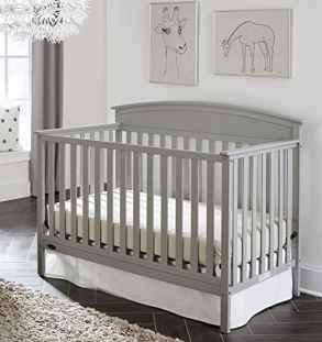 Graco Benton 5 In 1 Convertible Crib Whitewash