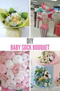 DIY Baby Sock Bouquet