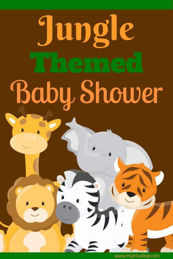 Jungle Theme Baby Shower Hip Hoo Rae